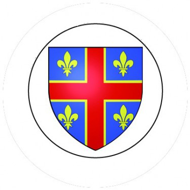 BADGESAGOGO.FR - Badge 25mm CLERMONT FERRAND
