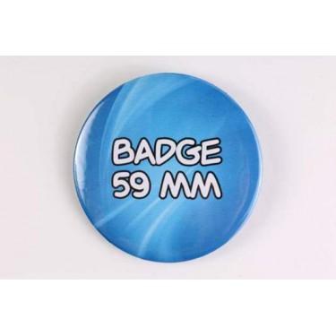 Badge 59 mm 100% personnalisé