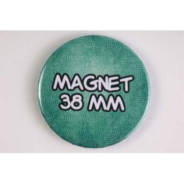 Magnet 38 mm 100% personnalisé