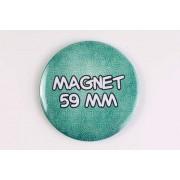 Magnet 59 mm 100% personnalisé