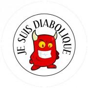 Badge 25mm Diabolique
