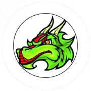 Badge 25mm Dragon