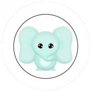Badge 25mm Elephant bébé