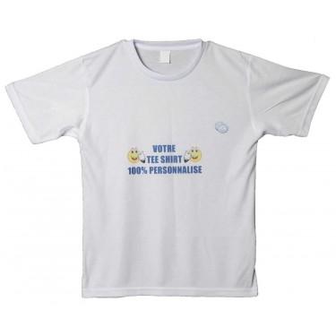 Tee shirt personnalisé à col rond