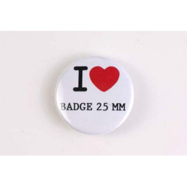 Badge 25mm I LOVE