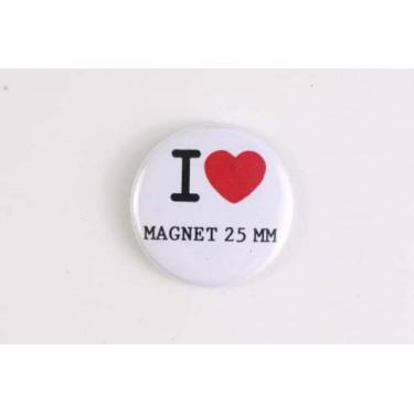 Magnet 25mm I LOVE
