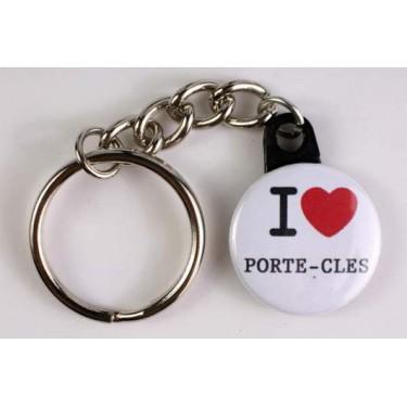Porte-clés I LOVE