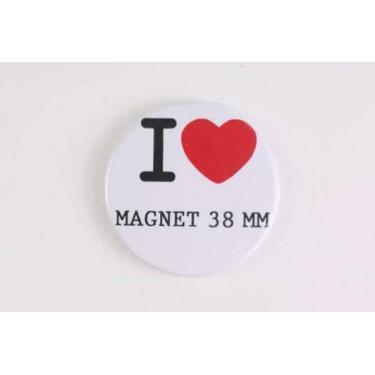 Magnet 38 mm I LOVE