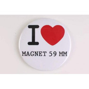 Magnet 59 mm I LOVE