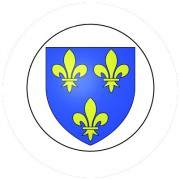 Badge 25mm Blason FRANCE