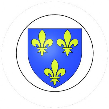 BADGESAGOGO.FR - Badge 25mm Blason FRANCE