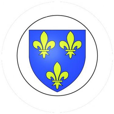 BADGESAGOGO.FR - Badge 25mm Blason FRANCE
