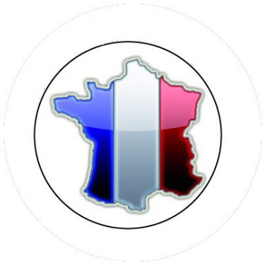 BADGESAGOGO.FR - Badge 25mm FRANCE