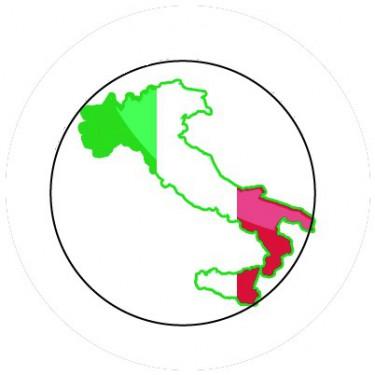 BADGESAGOGO.FR - Badge 25mm ITALIE