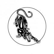 Badge 25mm Jaguar