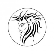 Badge 25mm JESUS