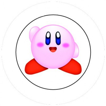 BADGESAGOGO.FR - Badge 25mm Kirby