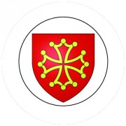 Badge 25mm LANGUEDOC