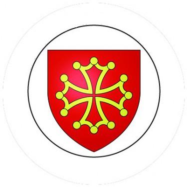 BADGESAGOGO.FR - Badge 25mm LANGUEDOC
