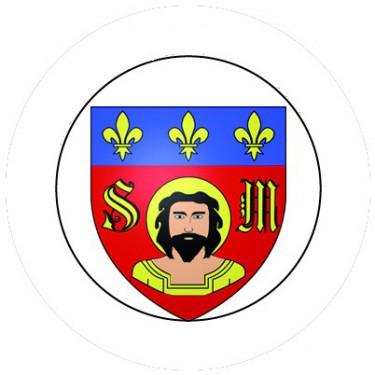 BADGESAGOGO.FR - Badge 25mm LIMOGES