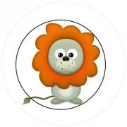 Badge 25mm Lion
