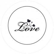 Badge 25mm Love