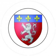 Badge 25mm LYON