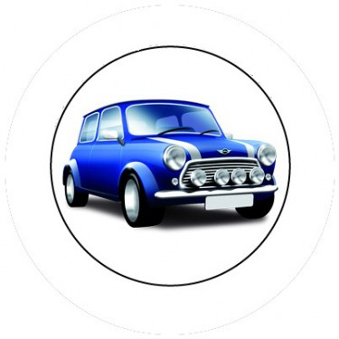 BADGESAGOGO.FR - Badge 25mm Mini Cooper