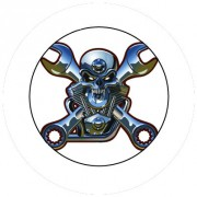 Badge 25mm Motorhead
