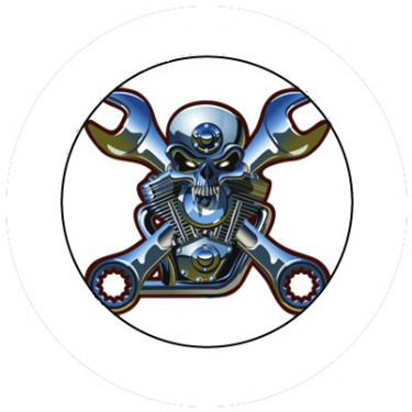 BADGESAGOGO.FR - Badge 25mm Motorhead
