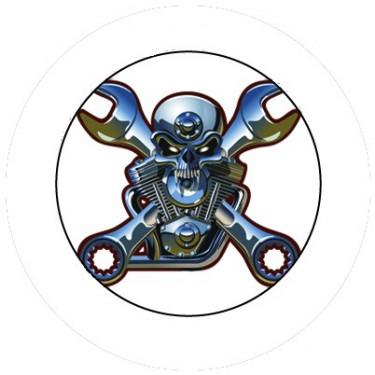 BADGESAGOGO.FR - Badge 25mm Motorhead