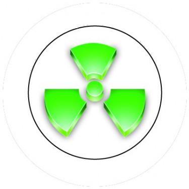BADGESAGOGO.FR - Badge 25mm Nucléaire