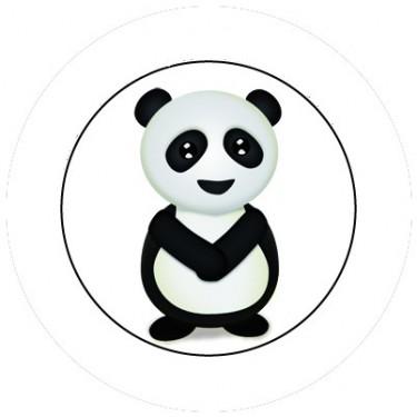 BADGESAGOGO.FR - Badge 25mm Panda