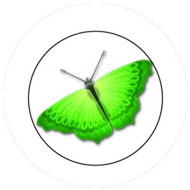 BADGESAGOGO.FR - Badge 25mm Papillon