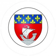 Badge 25mm PARIS