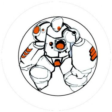 BADGESAGOGO.FR - Badge 25mm Robot