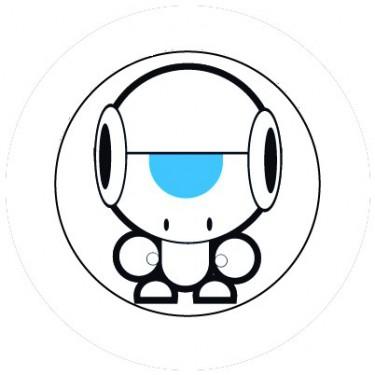 BADGESAGOGO.FR - Badge 25mm Robot rigolo