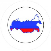 Badge 25mm RUSSIE