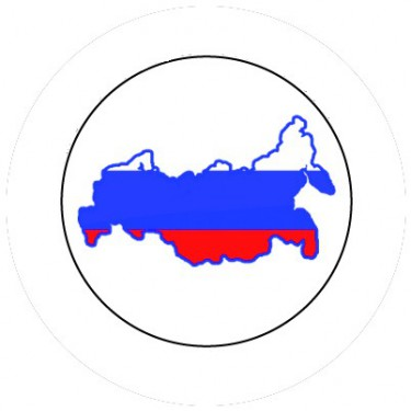BADGESAGOGO.FR - Badge 25mm RUSSIE