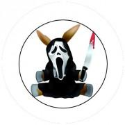 Badge 25mm Scream mule