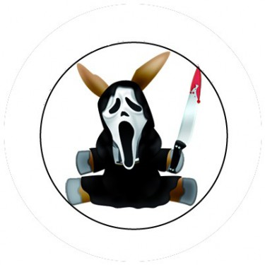 BADGESAGOGO.FR - Badge 25mm Scream mule