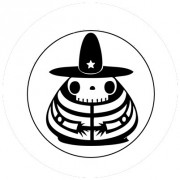 Badge 25mm Sombrero