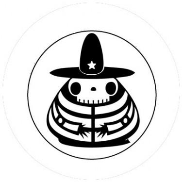 BADGESAGOGO.FR - Badge 25mm Sombrero