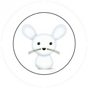 Badge 25mm Souris
