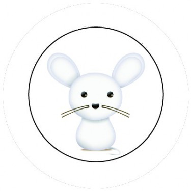 BADGESAGOGO.FR - Badge 25mm Souris