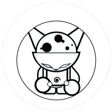 BADGESAGOGO.FR - Badge 25mm Strange cat