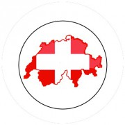 Badge 25mm SUISSE