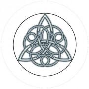 Badge 25mm Symbole celte