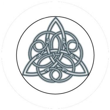 BADGESAGOGO.FR - Badge 25mm Symbole celte