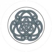 Badge 25mm Symbole celte 2